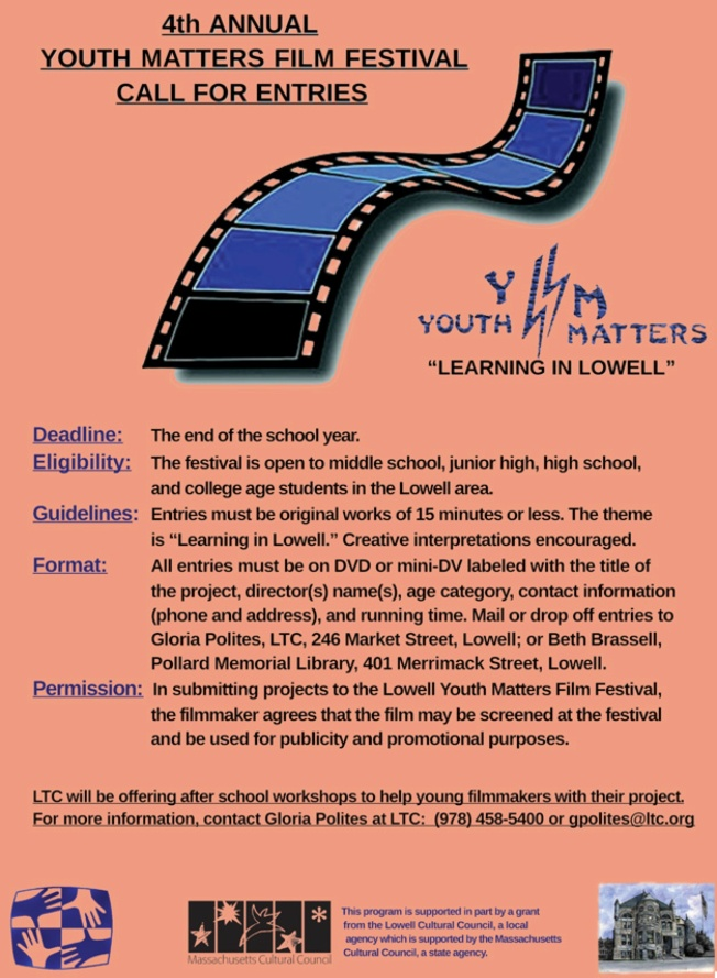 4th Annual Youth Matters Film Festival
