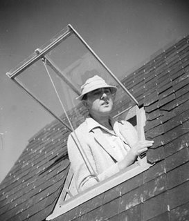 The charming, bumbling Monsieur Hulot, as played by Jacques Tati