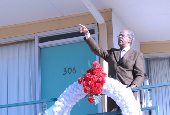 """""""The Witness From the Balcony of Room 306"""" – in commemoration of Martin Luther King, Jr. Day 