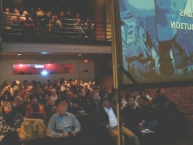 """Who Killed Chea Vichea"" screening, May 2012."