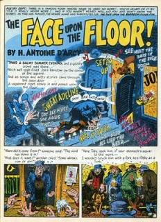 """The Face Upon The Floor"" in Mad Magazine"