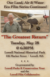 """The Greatest Return"" screens in Lowell, May 28!"