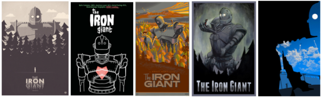 """The Iron Giant"" poster fan art"