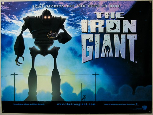 """The Iron Giant"" screens in Lowell, August 6!"