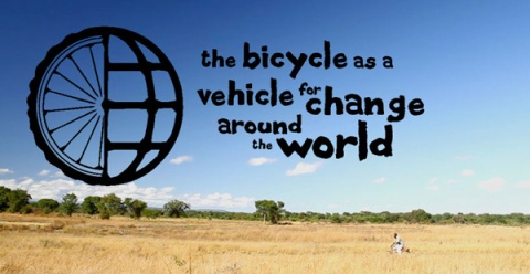 The bicycle as a vehicle for change around the world!